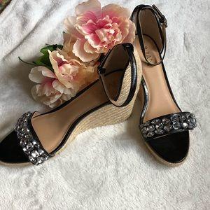 Shoes - Black Espadrille